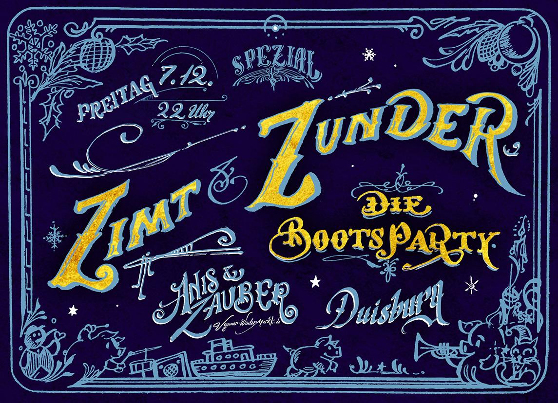 Zimt & Zunder Flyer
